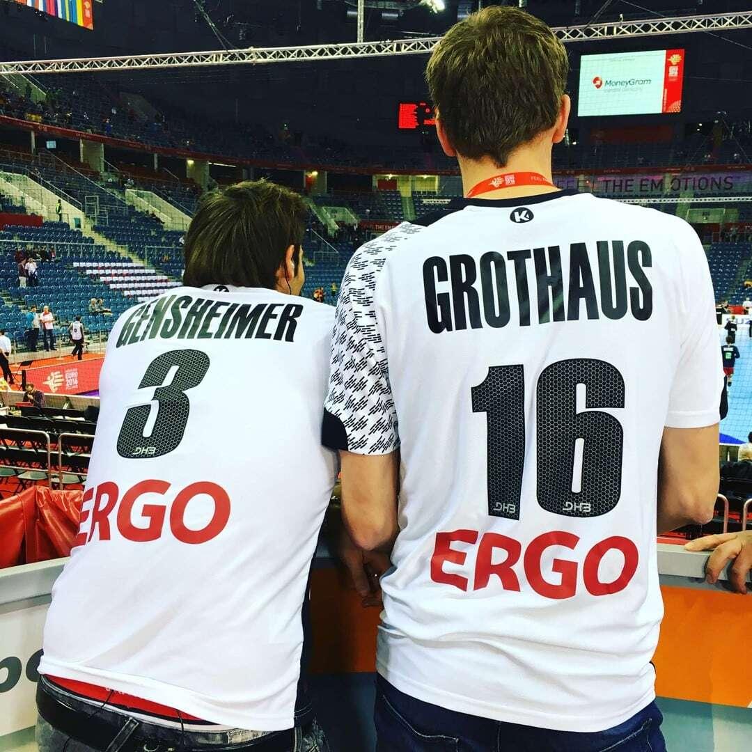 Uwe Gensheimer und Tim Grothaus