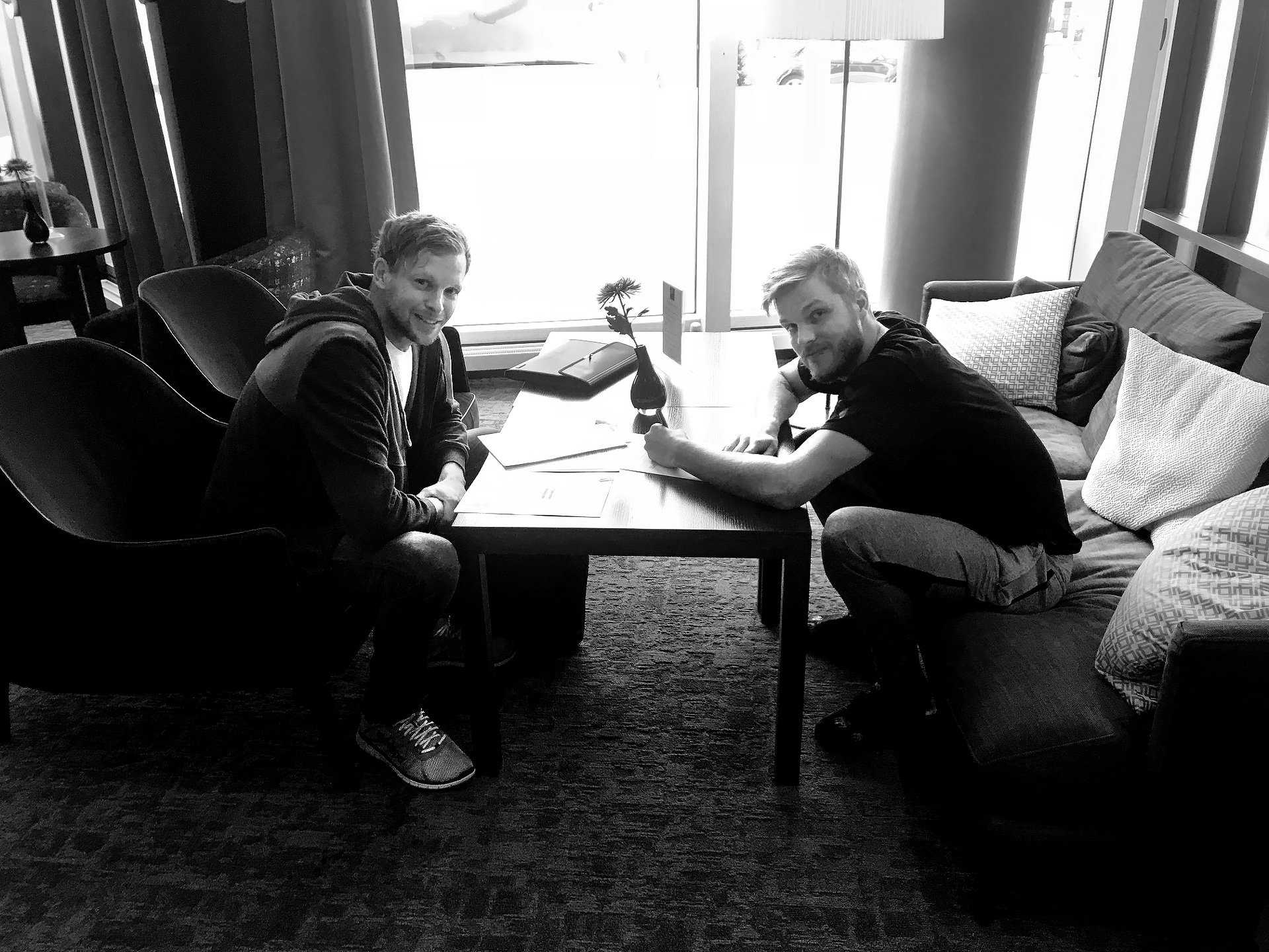 Anton Halen unterschreibt Vertrag mit Kempa
