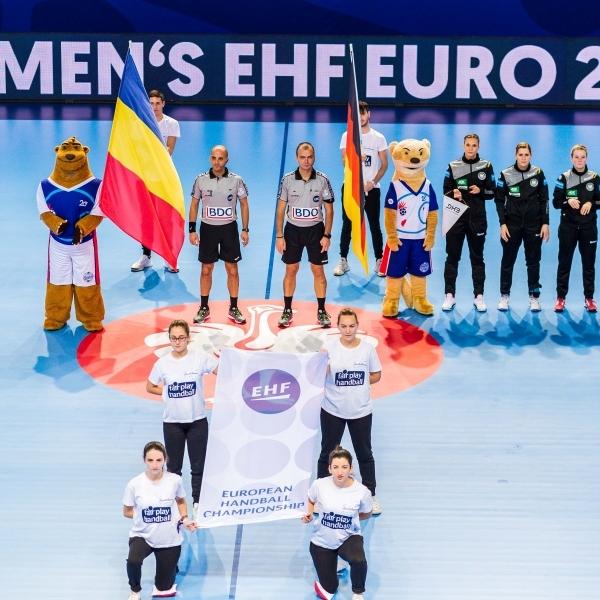 Handball EM: Deutschland vs. Rumänien