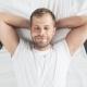 Schlafrhythmus Mann der schläft