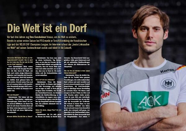 Handball Inside #24 6/2018 - Interview Uwe Gensheimer - Die Welt ist ein Dorf