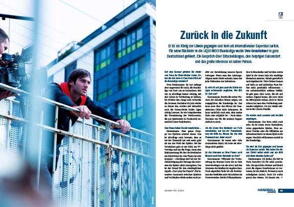 Handball Inside #30 6/2019 - Interview Uwe Gensheimer - Zurück in die Zukunft