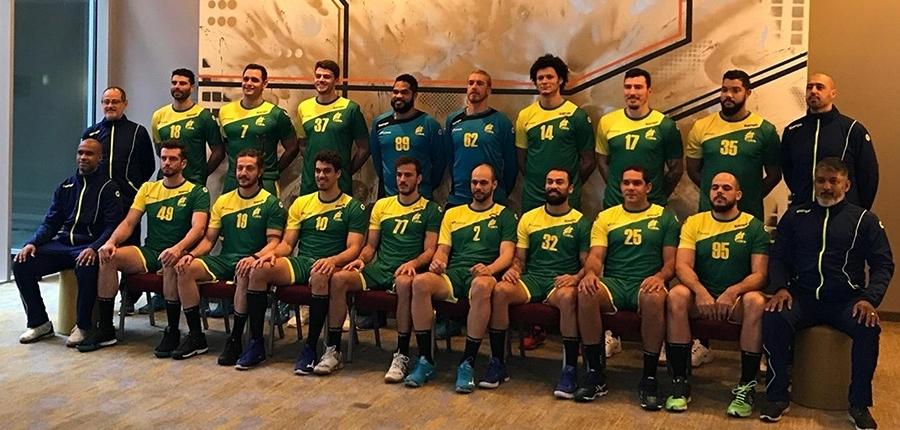 Brazil Teamfoto