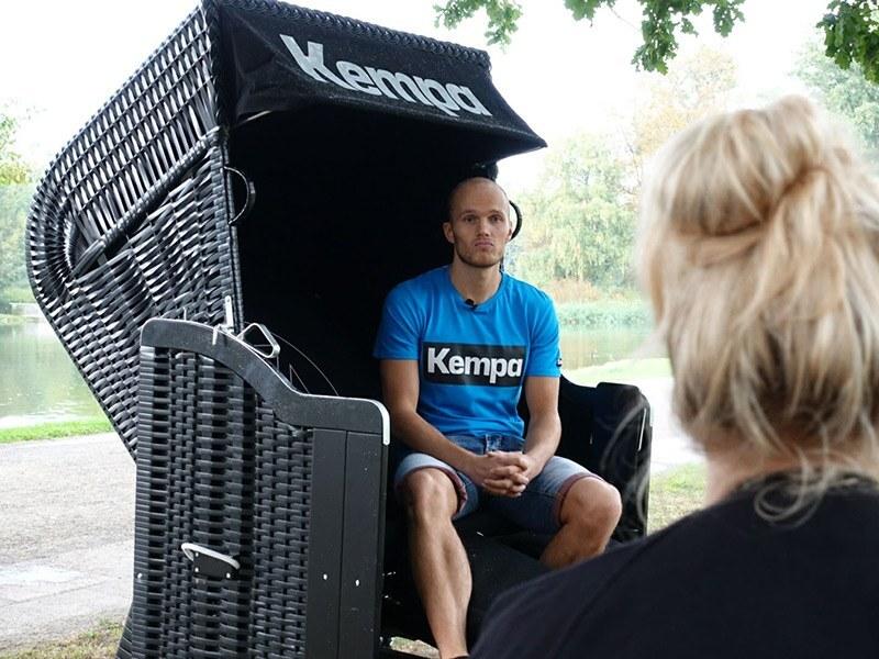 Tim Hornke auf der Kempa Strandgeflüster-Tour Nr.1