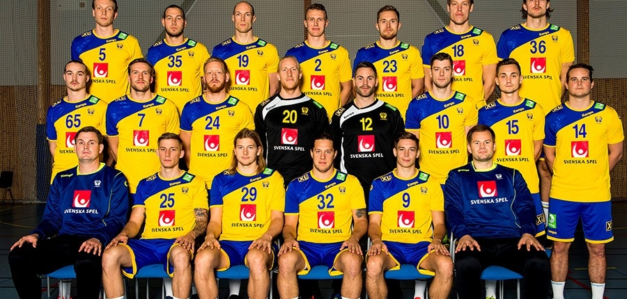 Sweden Teamfoto