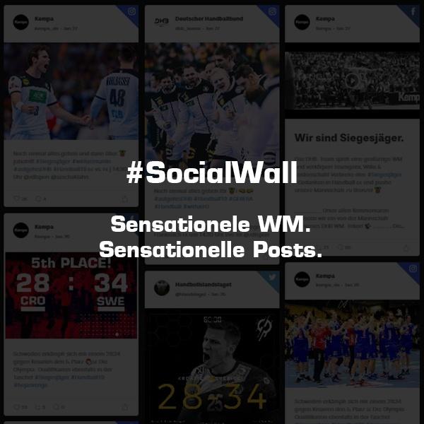 #SocialWall