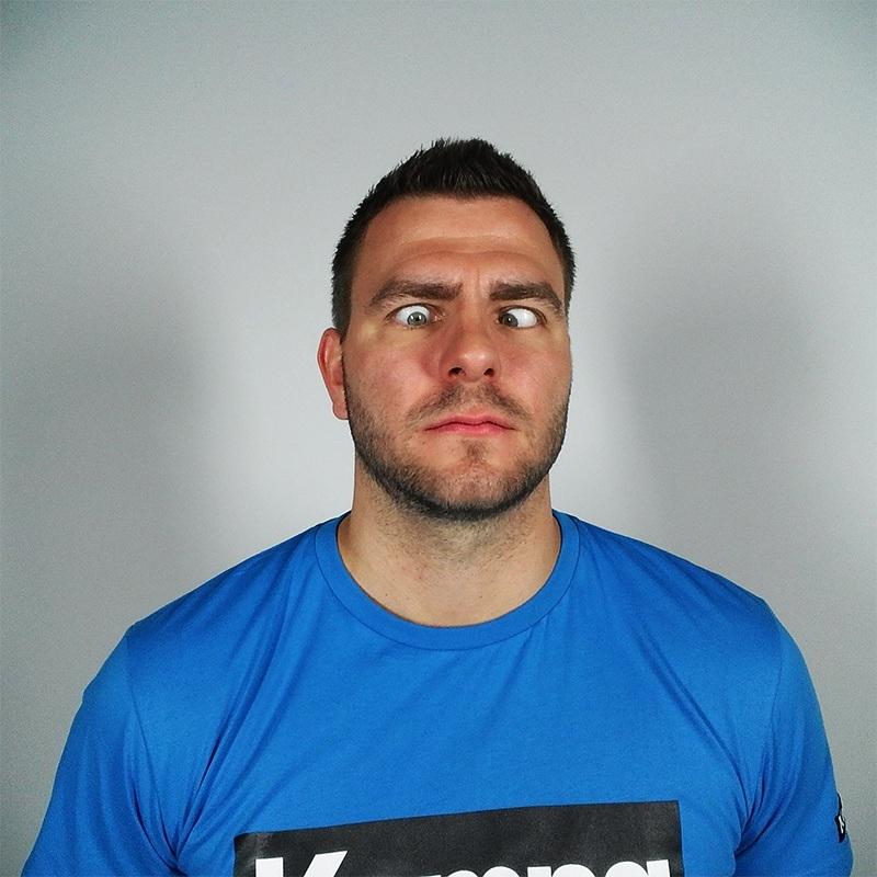 #uglyfacechallenge Christoph Theuerkauf