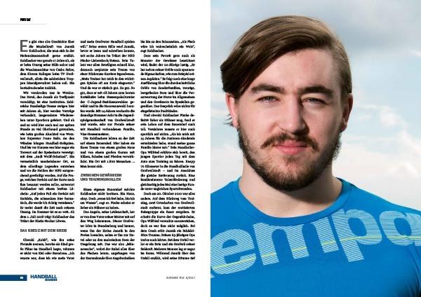 Interview mit Jannik Kohlbacher Handball Inside 6/2017
