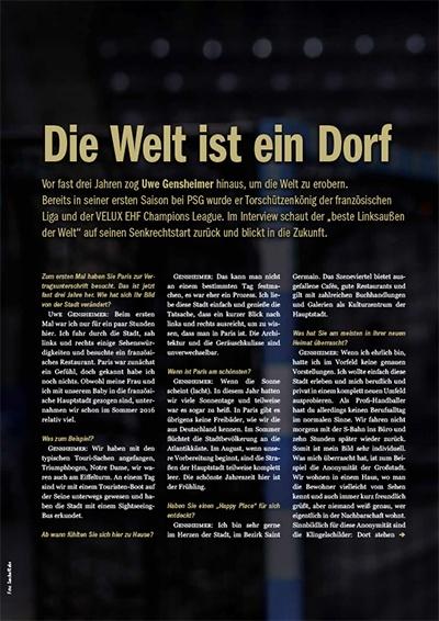Interview mit Uwe Gensheimer