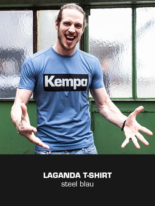 LAGANDA Kempa Freizeitkollektion - T-Shirt getragen von Kim Ekdahl du Rietz