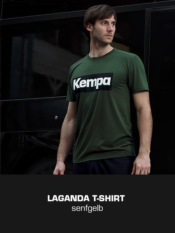 LAGANDA Kempa Freizeitkollektion - T-Shirt getragen von Uwe Gensheimer