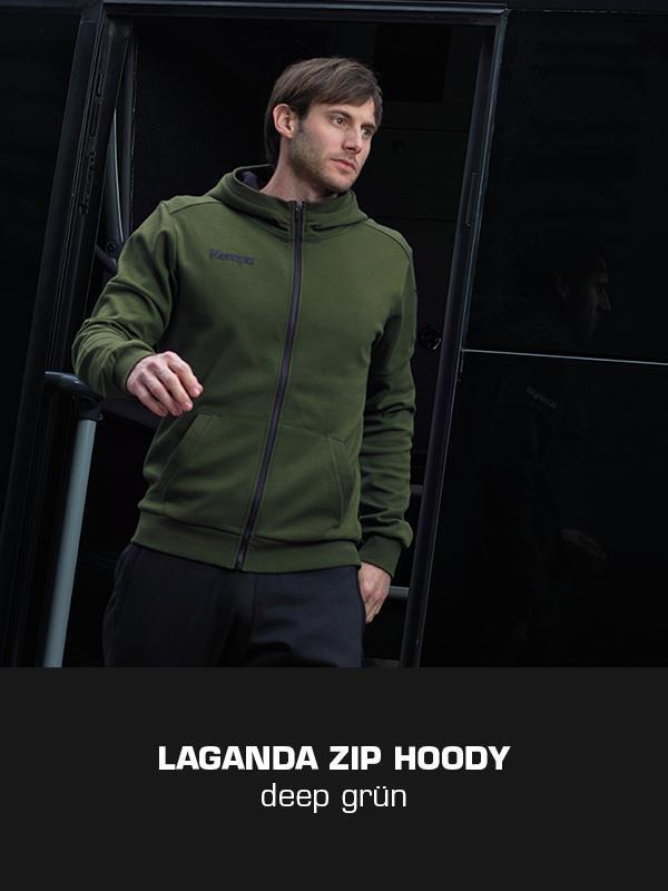 LAGANDA Kempa Freizeitkollektion - ZIP Jacke getragen von Uwe Gensheimer