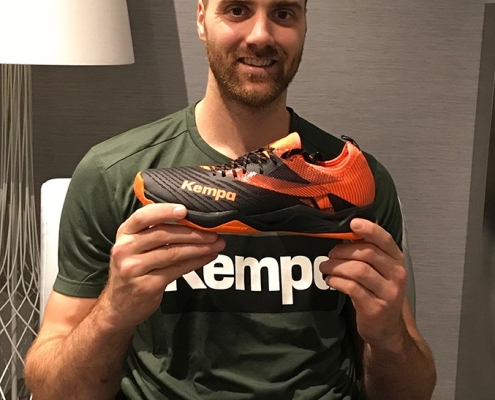 Andreas Wolff wird Teil der Kempa Familie