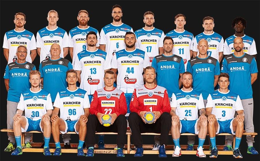 Das Team des TVB Stuttgart in der Saison 2019/20