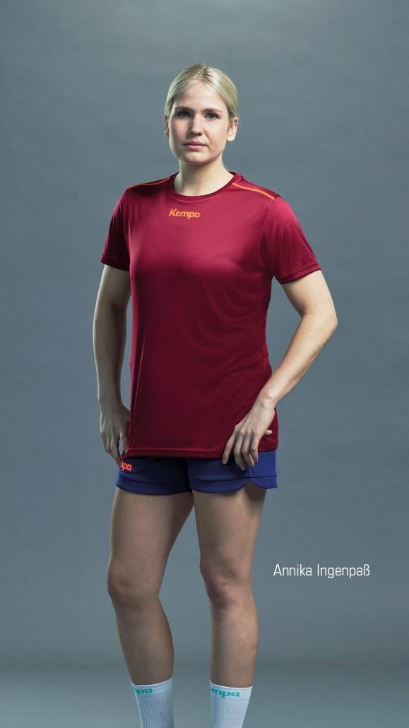 Kempa Poly Shirt Women - Annika Ingenpaß