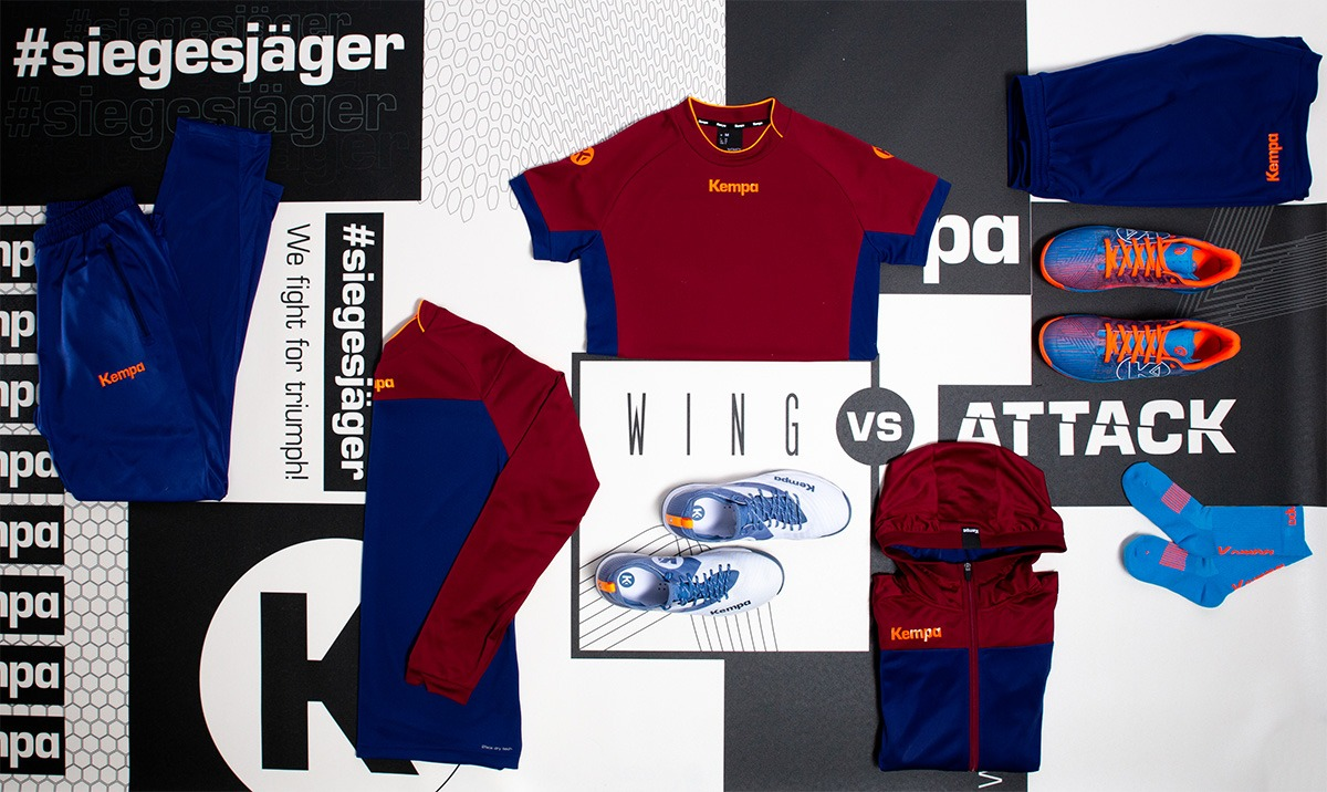 WING vs ATTACK & Kempa PRIME Teamkollektion