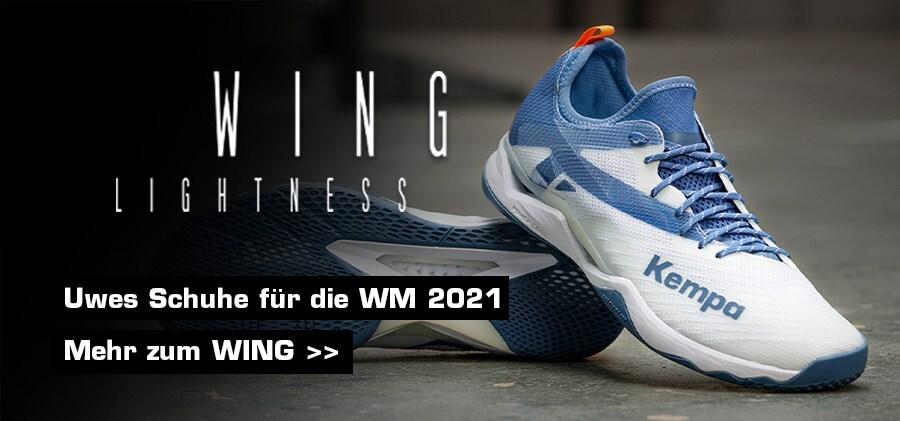 Uwes Schuhe bei der WM 2021 - WING Lightness