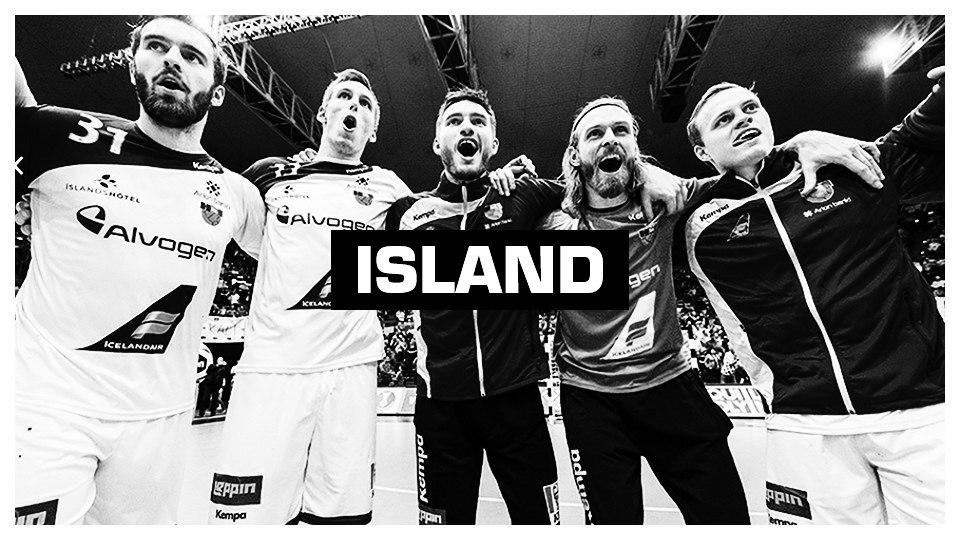 Handball Nationalmannschaft Island