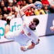 Tomas Babak im Kempa WING Handballschuh beim Sprungwurf