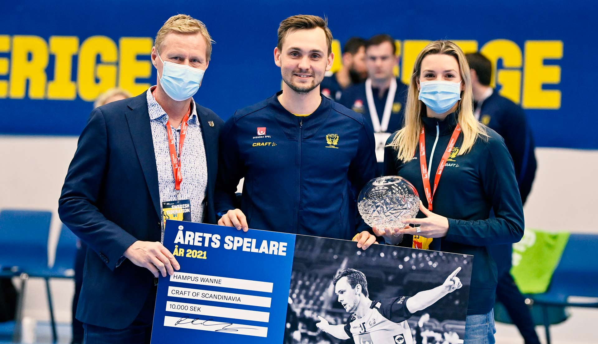Hampus Wanne Player of the year 2021